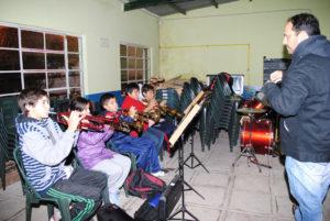 Uno de los grupos de trompeta perteneciente al Programa