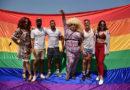 Una concentración y un beso para repudiar la discriminación en Ocean Club
