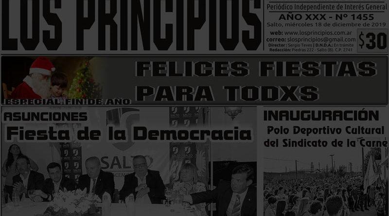 LOS PRINCIPIOS: Fin de ciclo y comienzo de una nueva etapa