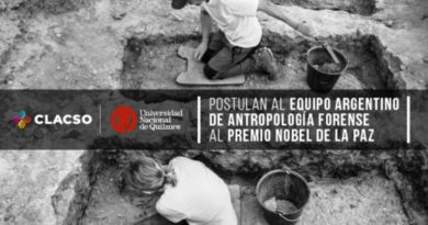 Postulan al Equipo Argentino de Antropología Forense al Nobel de la Paz