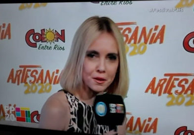 Lorena Toso en la T.V. Pública