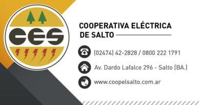 Corte programado de energía eléctrica para el 01/04/21
