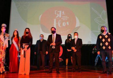 Con formato virtual la Fiesta Nacional de la Flor inauguró su 57º edición