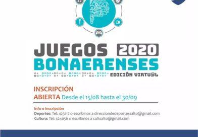 En su edición 2020 los Juegos Bonaerenses serán de manera virtual