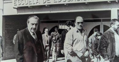 Un adiós de boina blanca para Antonio R. Santiso