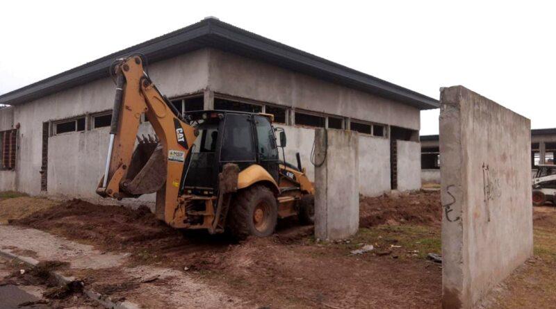 En marcha la construcción de la Secundaria N° 2 en el Barrio Molino
