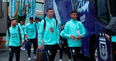 La Selección ya está en Núñez, a la espera del duelo ante Perú